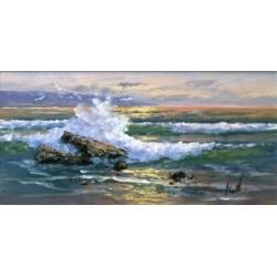Breaking waves 1