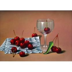 Glass and Cherries