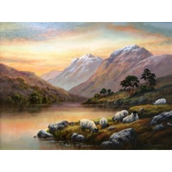 End of the day   -   Loch Lomond