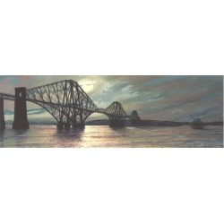 Moonlight over the Forth Bridge
