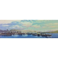 Gourock Pier and P.S. Jeanie Deans