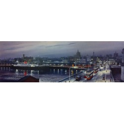 King George V Bridge and Broomielaw  ( Small )