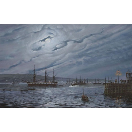 Moonlight on the Clyde